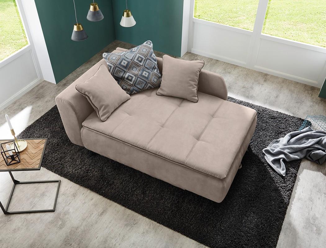 recamiere modern grau. Black Bedroom Furniture Sets. Home Design Ideas