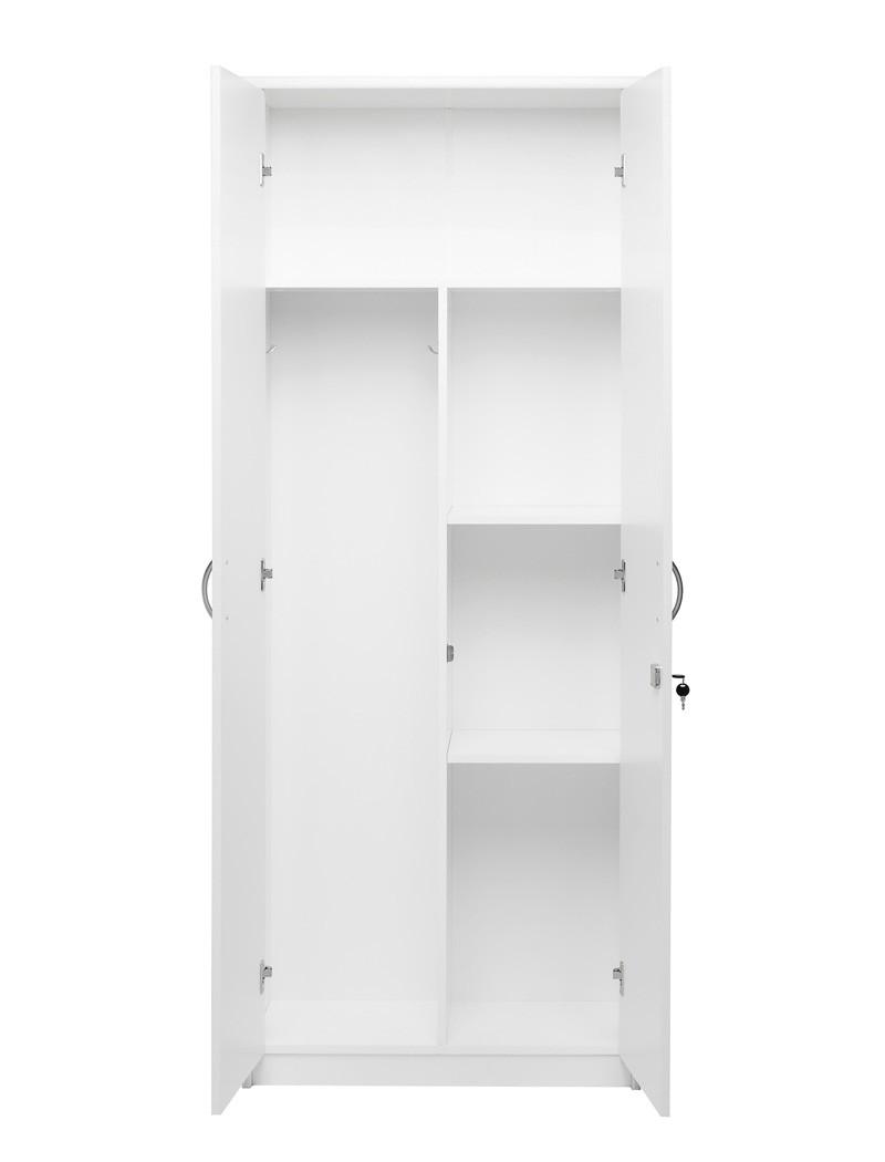 putzschrank wei 74x188x35 cm besenschrank. Black Bedroom Furniture Sets. Home Design Ideas