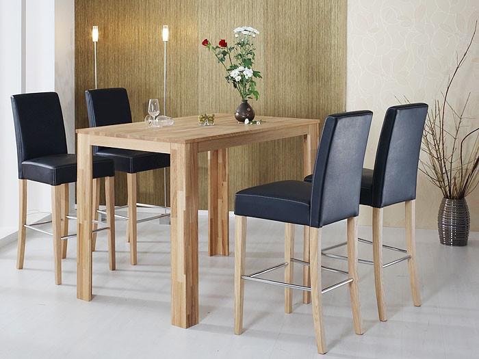 tresentisch arvada 90x90x96cm buche lackiert holztisch bartisch tisch massiv ebay. Black Bedroom Furniture Sets. Home Design Ideas