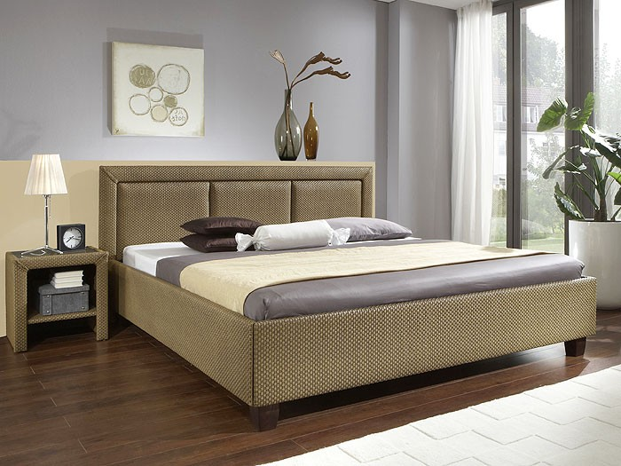 rattanbett futonbett lanai 140x200 cm loomgeflecht loom bett doppelbett bett ebay. Black Bedroom Furniture Sets. Home Design Ideas