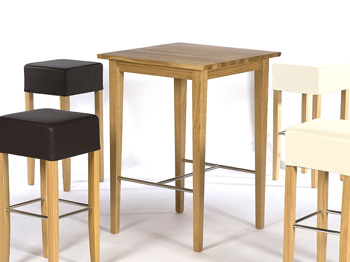 bartisch leno 75x75x105cm buche kolonial lackiert tisch massiv holztisch tresen ebay. Black Bedroom Furniture Sets. Home Design Ideas