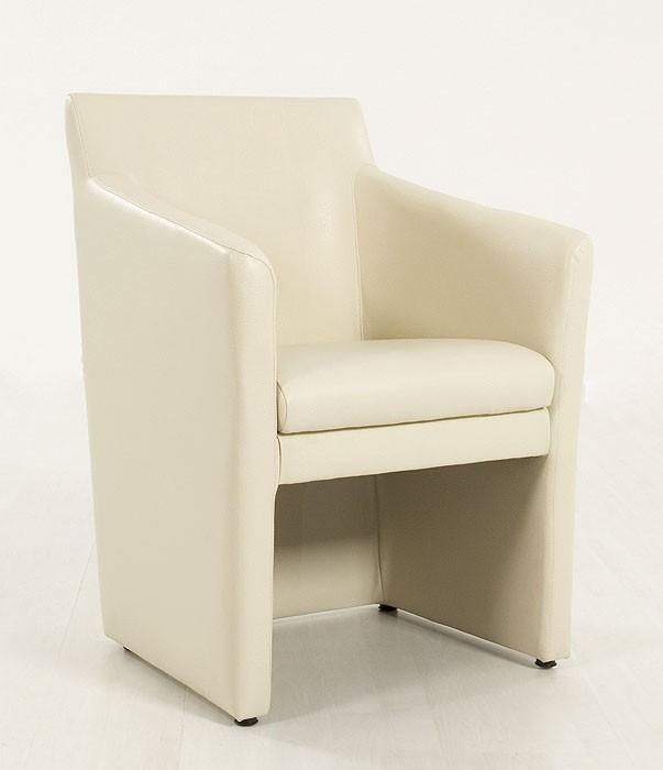 Polstersessel sigma elektra beige kunstleder sessel for Sessel kunstleder