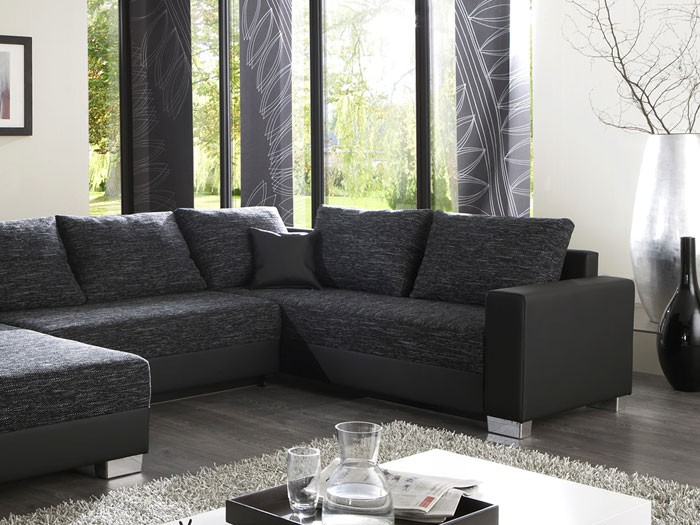 wohnzimmer farben graue couch. Black Bedroom Furniture Sets. Home Design Ideas