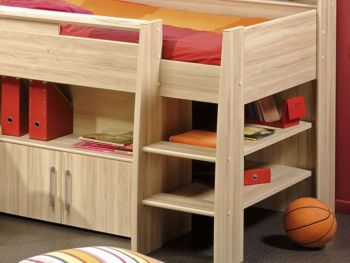 kinderzimmer kosta 2 kernbuche nb hochbett schreibtisch kleiderschrank ebay. Black Bedroom Furniture Sets. Home Design Ideas