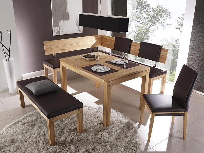 bank luca 130cm rl kernbuche lackiert elektra grau sitzbank holzbank massiv ebay. Black Bedroom Furniture Sets. Home Design Ideas