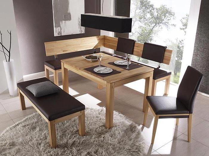 bank luca 130cm rl kernbuche lackiert elektra grau sitzbank holzbank massiv ebay. Black Bedroom Furniture Sets. Home Design Ideas