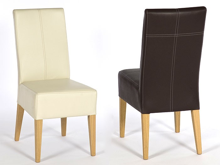 Esstisch Stühle Designklassiker ~ Polsterstuhl Tom, Buche natur, Elektra schwarz, Stuhl, Stühle, Kunstleder  eBay