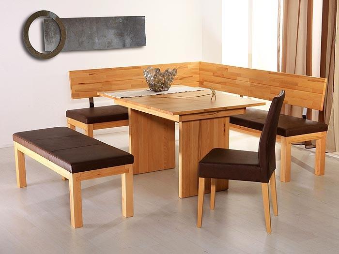sitzbank luca 130cm kernbuche lackiert elektra grau. Black Bedroom Furniture Sets. Home Design Ideas