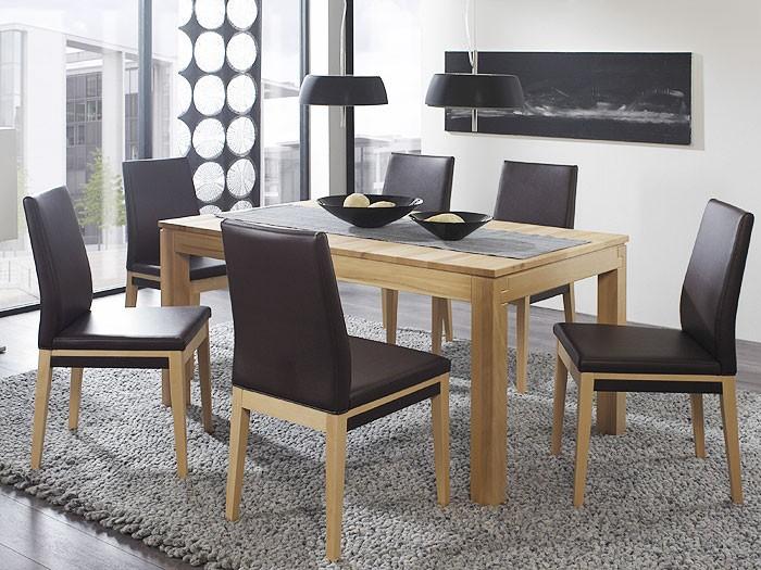 esstisch grover xl 130 230x90x75cm kernbuche lackiert ausziehbar tisch massiv ebay. Black Bedroom Furniture Sets. Home Design Ideas