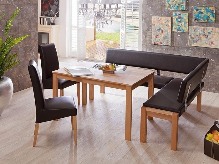 eckbankgruppe essgruppe valencia ii eckbank esstisch st hle essecke massiv ebay. Black Bedroom Furniture Sets. Home Design Ideas