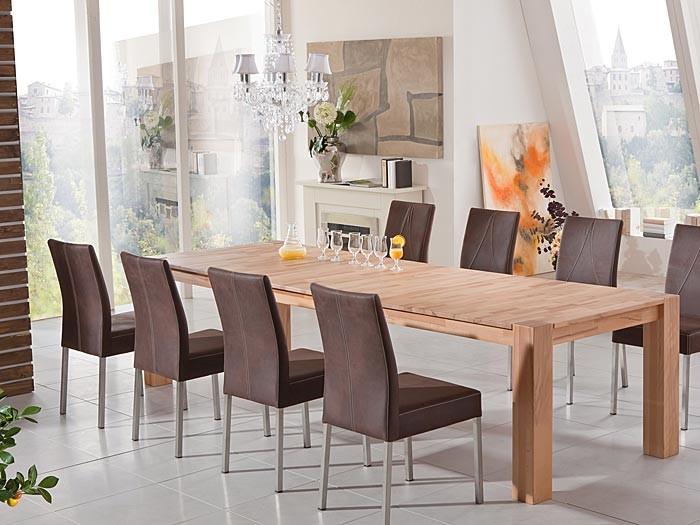 esstisch marco 2xl 200 300x100 ausziehbar holztisch massivholz tisch erweiterbar ebay. Black Bedroom Furniture Sets. Home Design Ideas