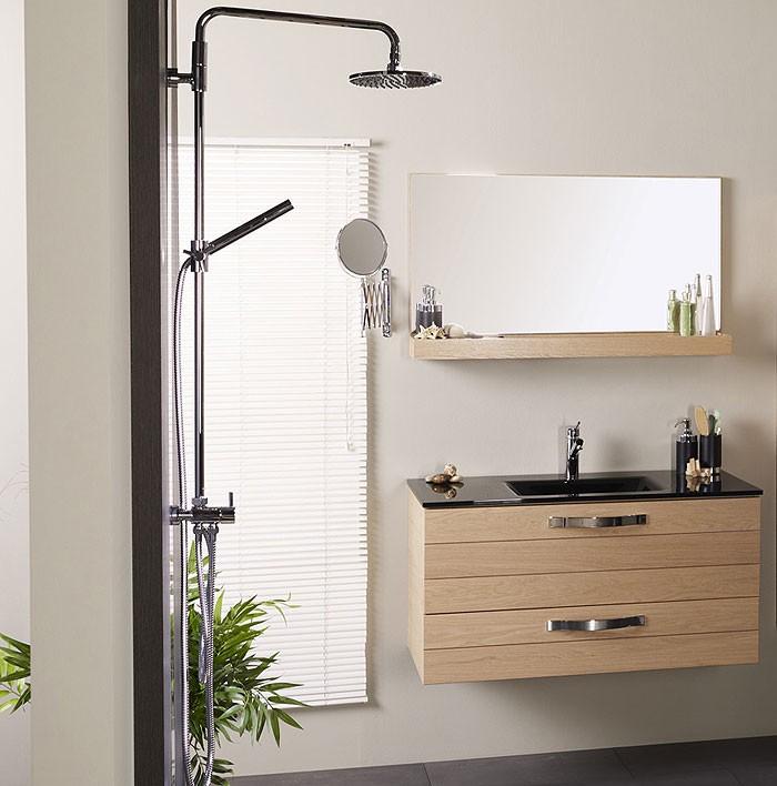 badm bel waschplatz bergen 2 2er set eiche furniert matt. Black Bedroom Furniture Sets. Home Design Ideas