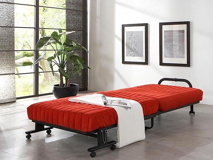 g stebett klappbett paul 90x200 cm versch farben. Black Bedroom Furniture Sets. Home Design Ideas