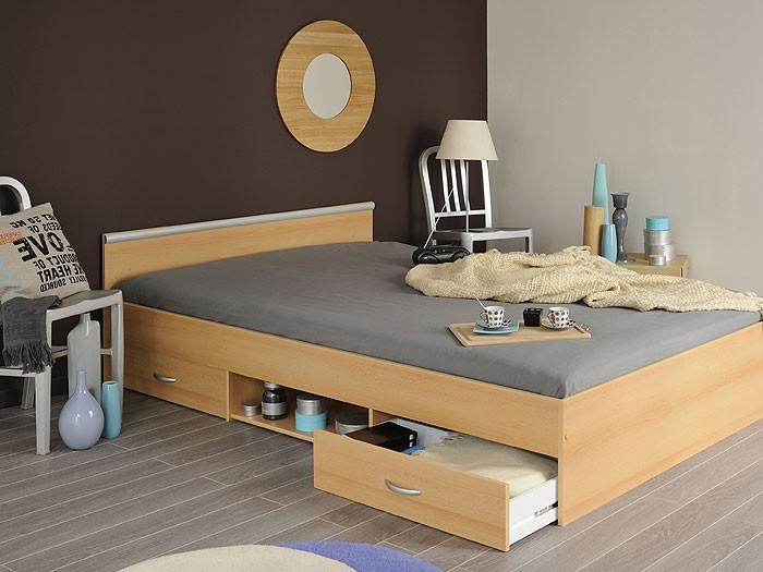 jugendbett bett 140x200cm mit 2 bettk sten buche. Black Bedroom Furniture Sets. Home Design Ideas