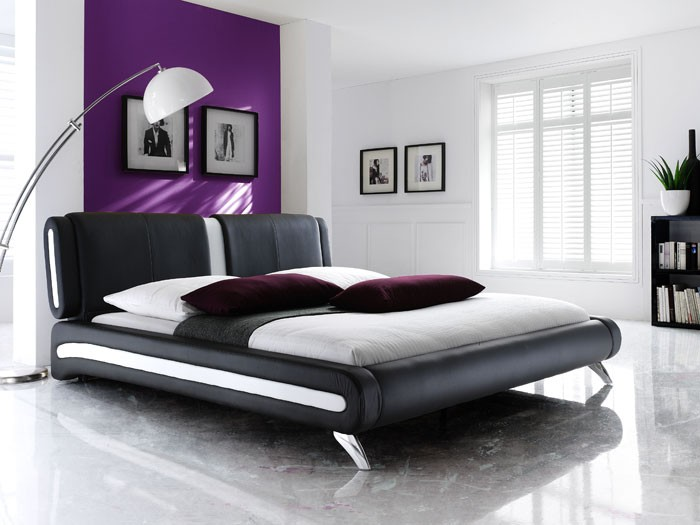 dico polsterbett amsterdam 180x200 kunstleder grau box. Black Bedroom Furniture Sets. Home Design Ideas