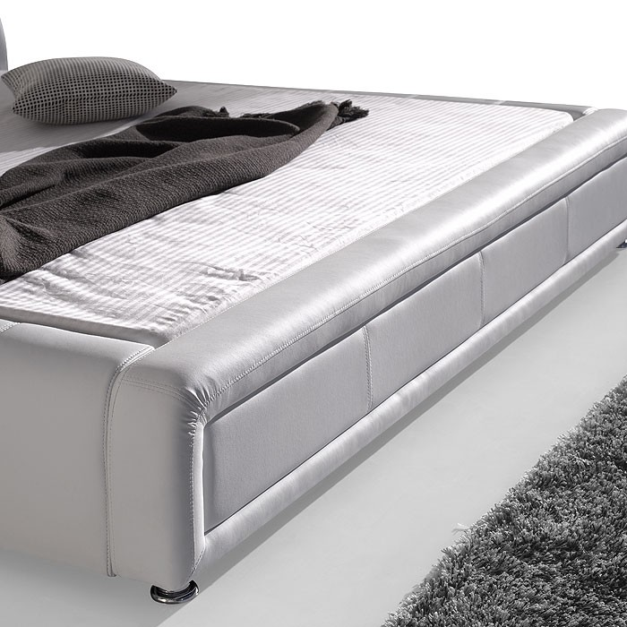 polsterbett komplett aron bett 180x200 schwarz. Black Bedroom Furniture Sets. Home Design Ideas