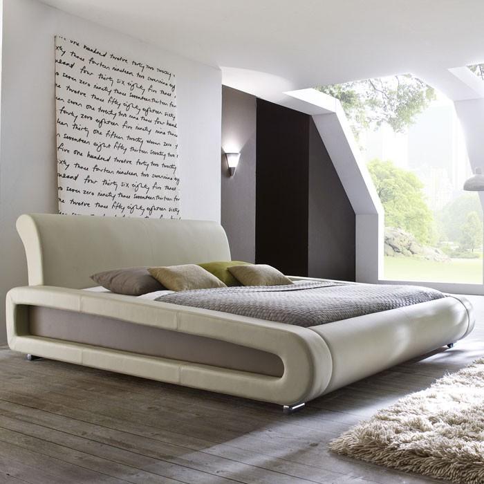 polsterbett komplett blain bett 180x200 beige lattenrost. Black Bedroom Furniture Sets. Home Design Ideas