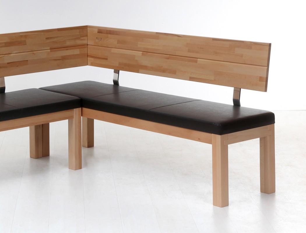 hochwertige eckbank 248x171 sitzecke holzbank massivholzbank luca big varianten ebay. Black Bedroom Furniture Sets. Home Design Ideas