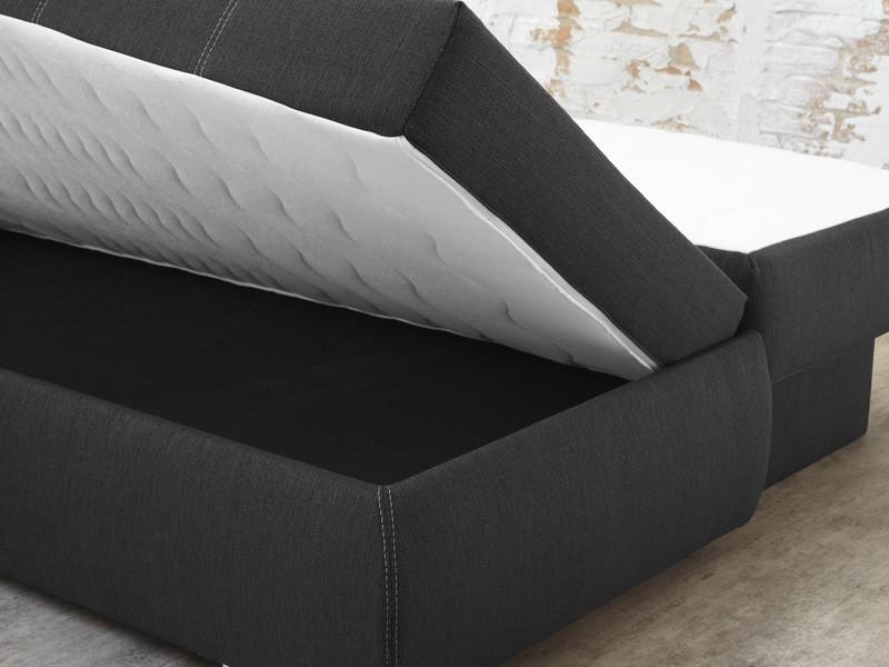 dauerschl fer schlafsofa 210x112cm braun sofa boxspring. Black Bedroom Furniture Sets. Home Design Ideas