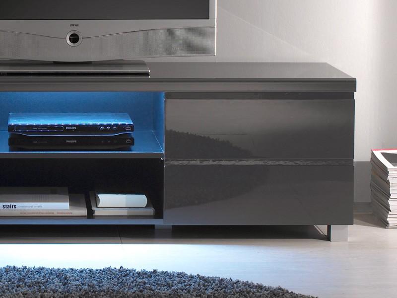 tv lowboard hochglanz anthrazit 162x46x42 tv board tv. Black Bedroom Furniture Sets. Home Design Ideas