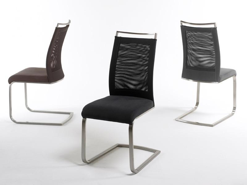 Stuhlgruppe freischwinger farbauswahl schwingstuhl - Schwingstuhl mit lehne ...
