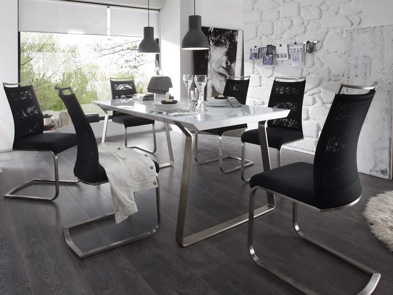 stuhlgruppe freischwinger farbauswahl schwingstuhl. Black Bedroom Furniture Sets. Home Design Ideas