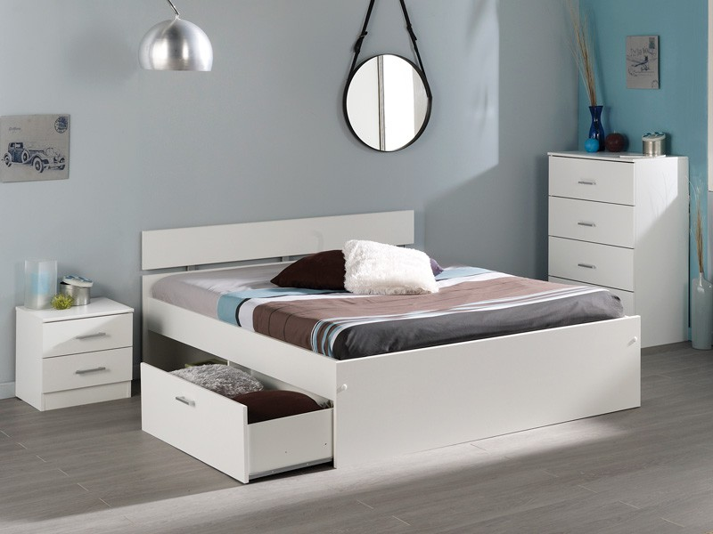 jugendzimmer komplett wei schlafzimmer 4 teilig schrank bett nako inaco 111. Black Bedroom Furniture Sets. Home Design Ideas