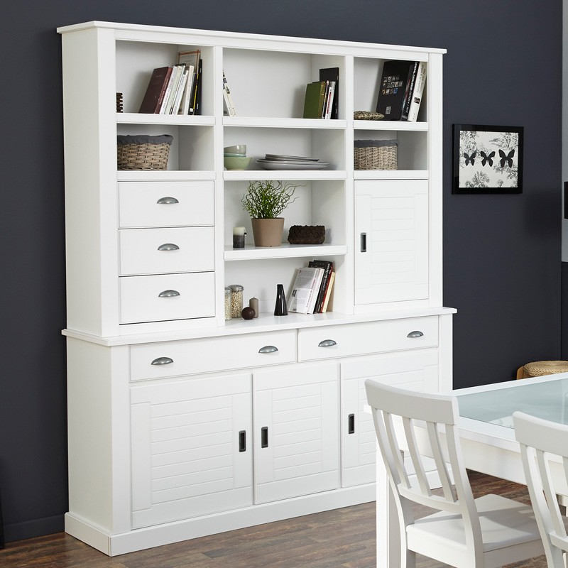 esszimmer komplett buffetschrank esstisch 4 st hle landhausm bel vicco 3 ebay. Black Bedroom Furniture Sets. Home Design Ideas