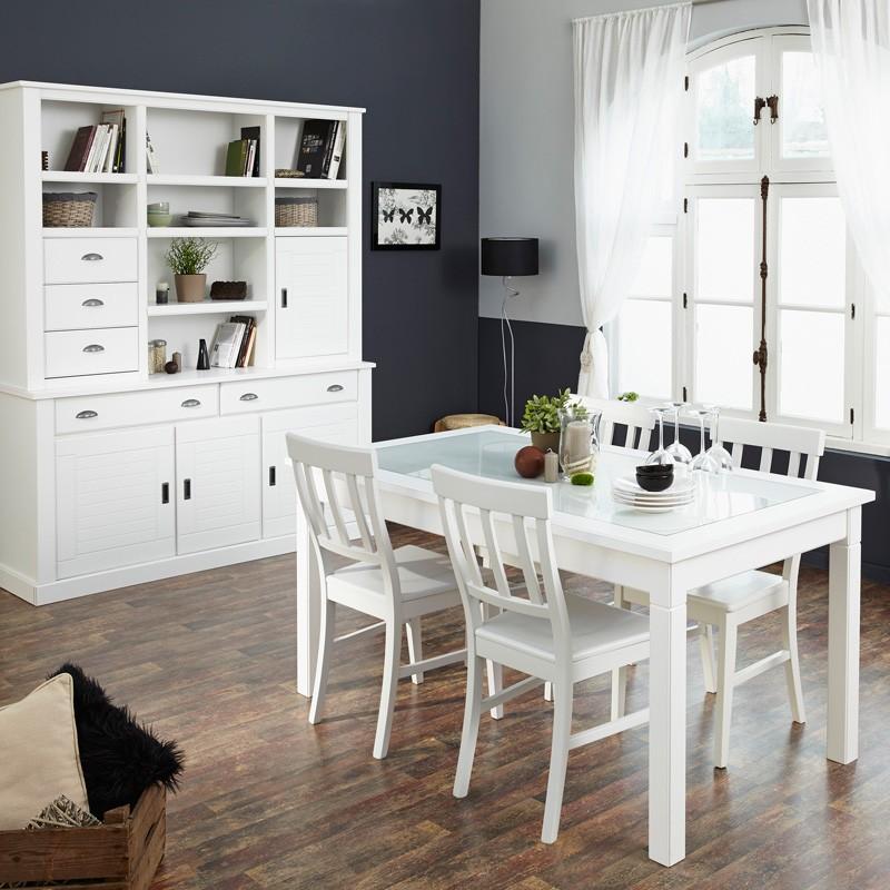 esszimmer wei landhaus neuesten design kollektionen f r die familien. Black Bedroom Furniture Sets. Home Design Ideas