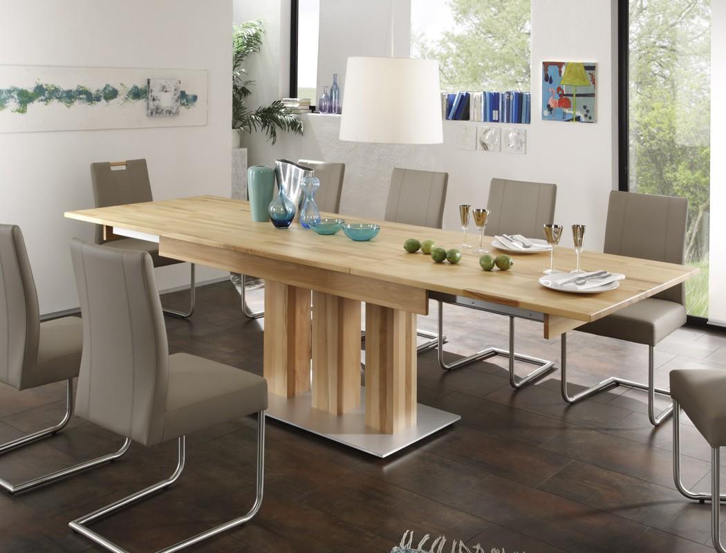 hochwertiger s ulentisch esstisch ausziehtisch massivholz. Black Bedroom Furniture Sets. Home Design Ideas