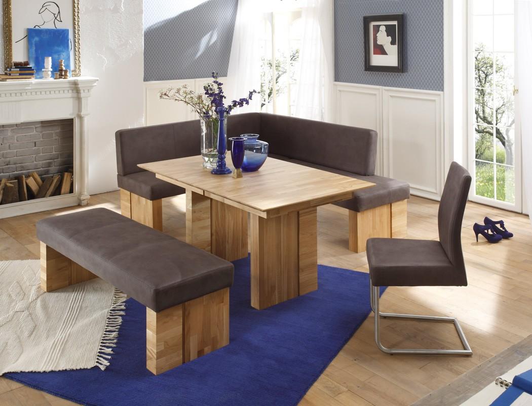 Modern Tisch eckbankgruppe eckbank tisch sitzbank schwingstuhl flavio quot d quot jonas anthra ebay