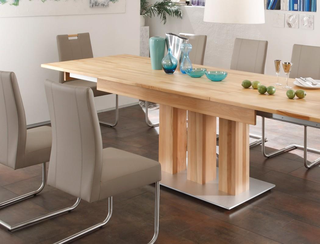 essgruppe kernbuche s ulentisch 8 schwingst hle arkas xl louisa schlamm ebay. Black Bedroom Furniture Sets. Home Design Ideas