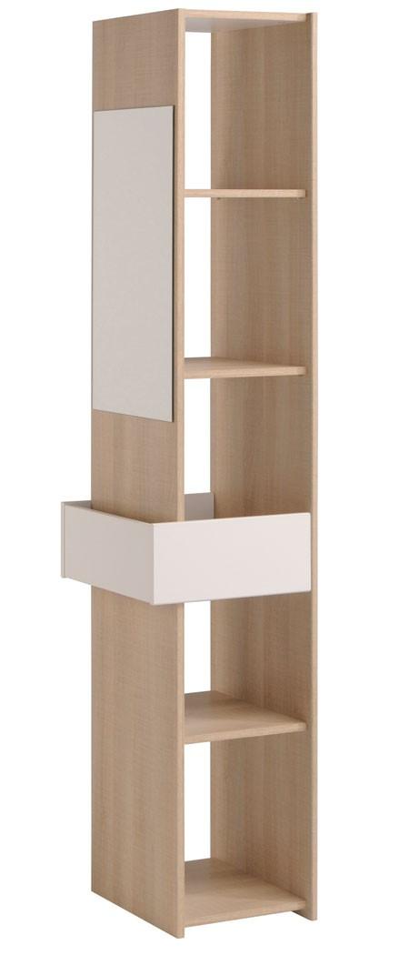 kleiderschrank eiche wei jugendzimmer kinderzimmerschrank schrank regal falk 5 ebay. Black Bedroom Furniture Sets. Home Design Ideas