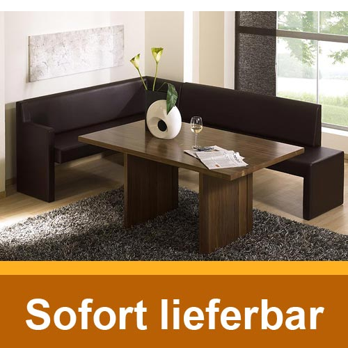 eckbank porto middle links schwarz kunstleder sitzbank. Black Bedroom Furniture Sets. Home Design Ideas