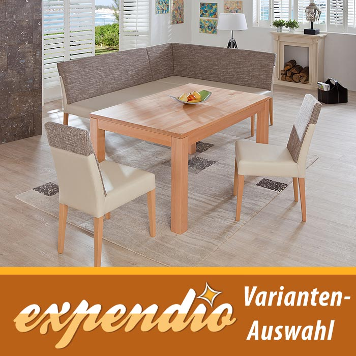 eckbankgruppe essgruppe meran iii eckbank esstisch mit st hlen essecke massiv ebay. Black Bedroom Furniture Sets. Home Design Ideas