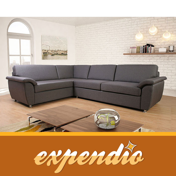 Eckcouch marsala 205x260cm links bezug bari ecksofa for Eckcouch links