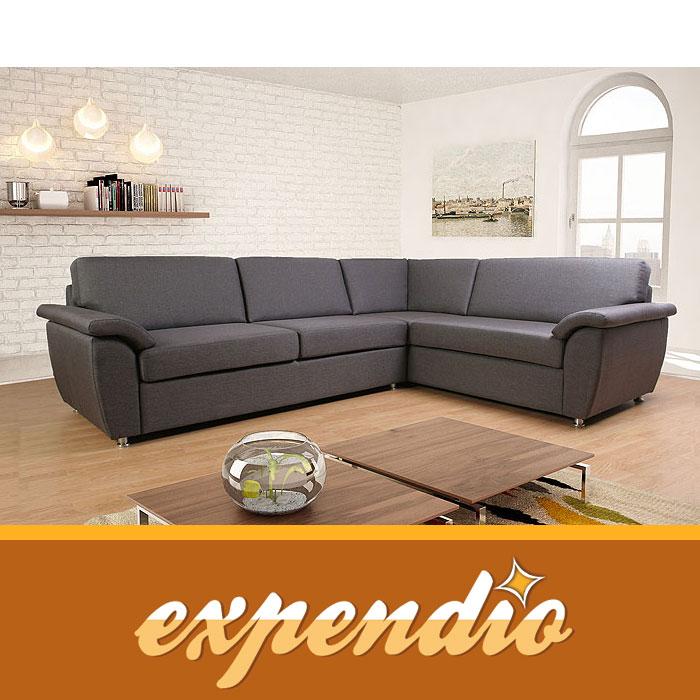 eckcouch marsala 260x205cm rechts bezug bari ecksofa couch polsterecke garnitur ebay. Black Bedroom Furniture Sets. Home Design Ideas