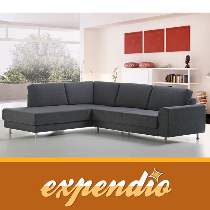 Ecksofa tarent 200x268cm links bezug avola eckcouch sofa for Eckcouch links