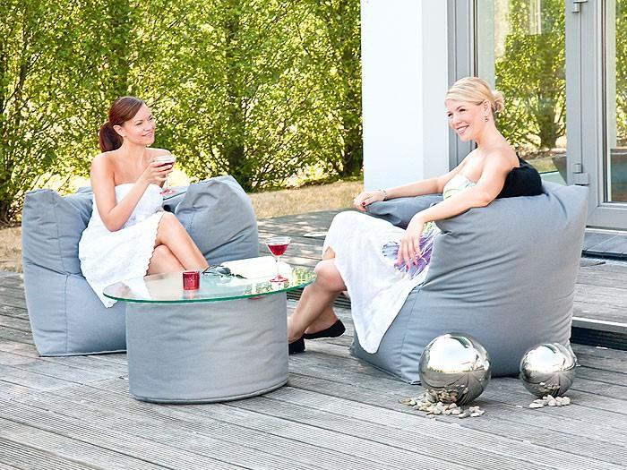 gartenm bel sitzsack caribbean armsessel 90x65 cm. Black Bedroom Furniture Sets. Home Design Ideas