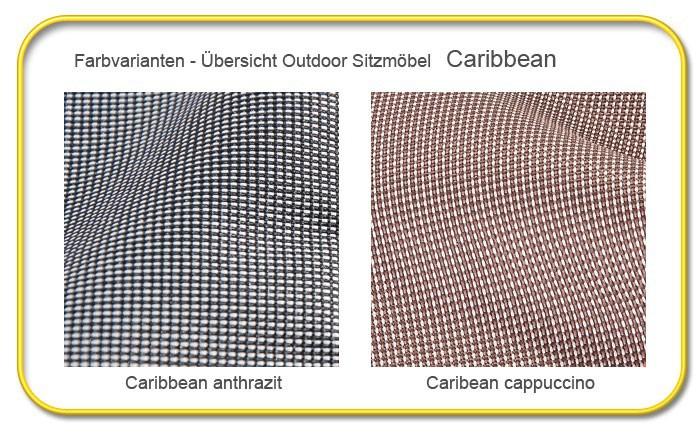 gartenmöbel sitzsack caribbean armsessel 90x65 cm anthrazit, Hause und Garten