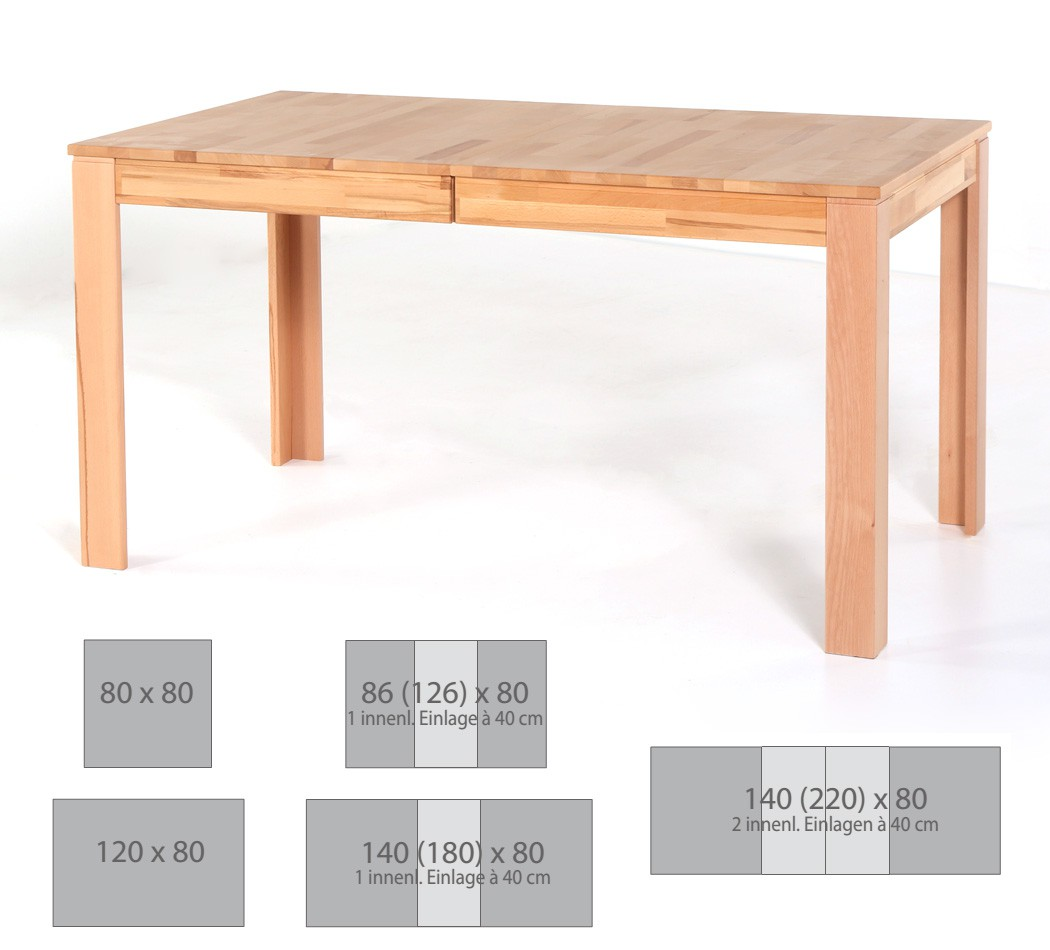 Esstisch Petri Tisch Varianten Kchentisch Massivholztisch Esszimmer