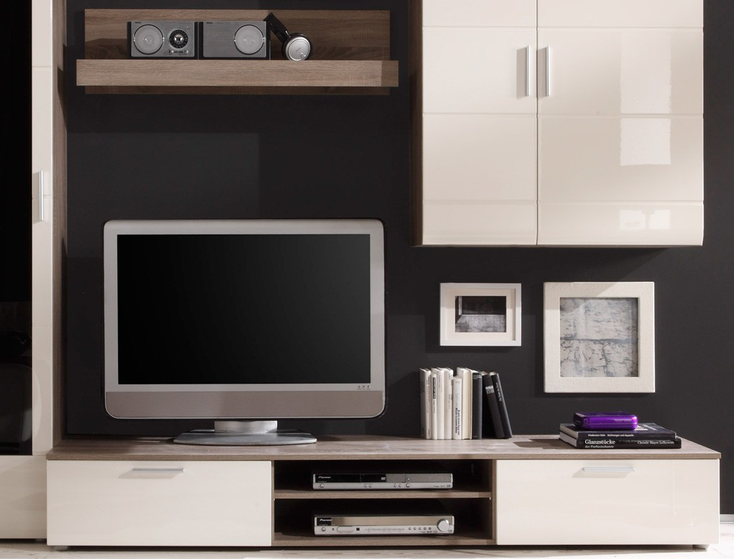 Wohnzimmerschrank Flach Funvitcom Moderne Wohnzimmer Schrank