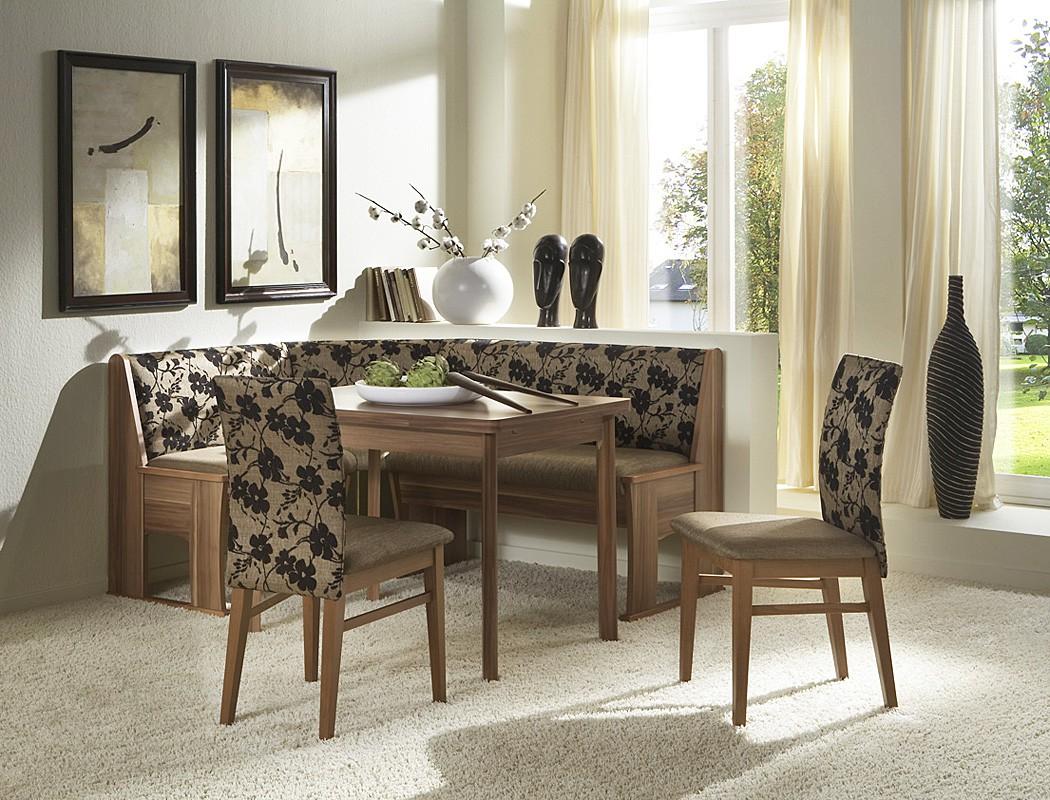 eckbankgruppe nadia 2 wallnuss braun 167x128 2xstuhl ausziehtisch bank wohnbereiche esszimmer. Black Bedroom Furniture Sets. Home Design Ideas
