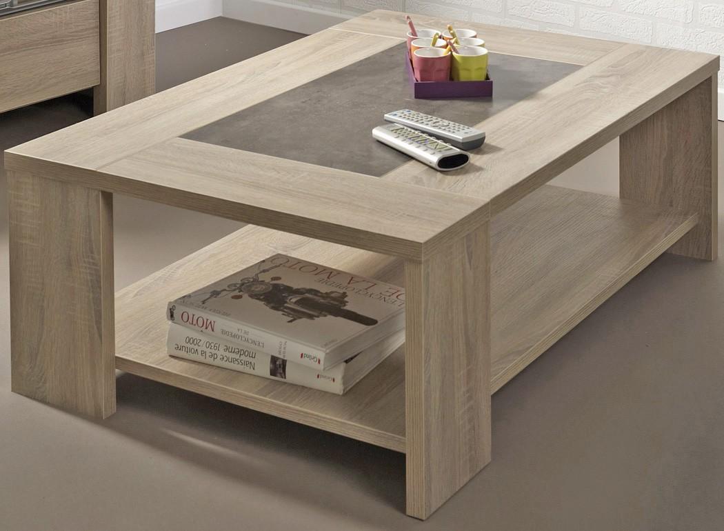 couchtisch fumio 3 eiche natur nachbildung steinoptik 105x73 sofatisch wohnbereiche wohnzimmer. Black Bedroom Furniture Sets. Home Design Ideas