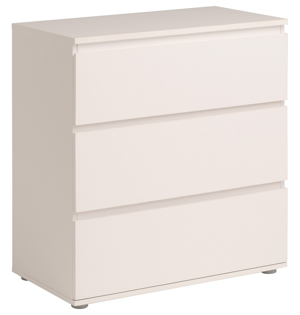 kommode weiss 77x82x40 cm schubkastenkommode sideboard. Black Bedroom Furniture Sets. Home Design Ideas
