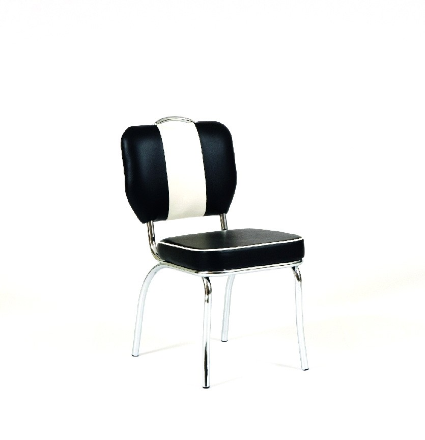 tischgruppe bistrotisch kiki 2 weiss mit 4x stuhl peter schwarz tisch wohnbereiche esszimmer. Black Bedroom Furniture Sets. Home Design Ideas