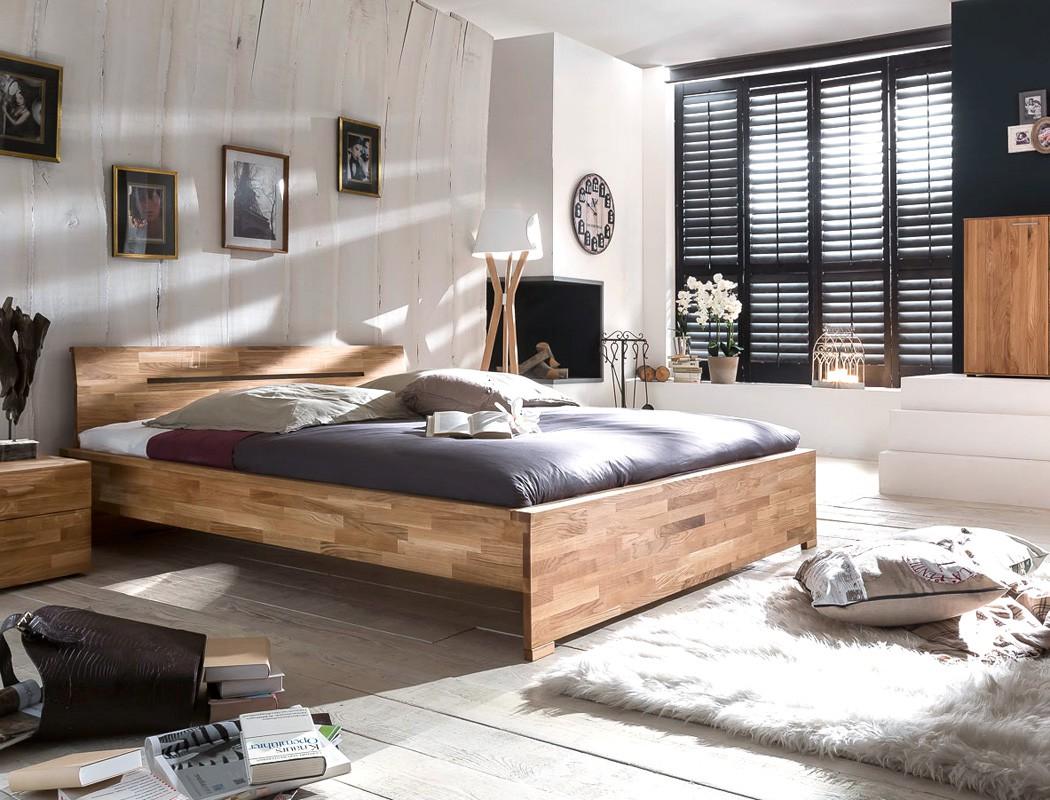 massivholzbett savin 140x200 wildeiche ge lt jugendbett singlebett wohnbereiche schlafzimmer. Black Bedroom Furniture Sets. Home Design Ideas