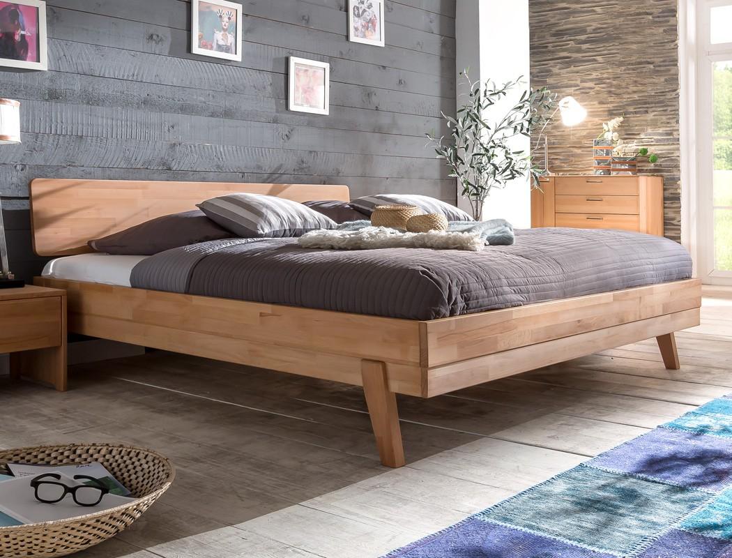 massivholzbett liano 180x200 kernbuche ge lt doppelbett. Black Bedroom Furniture Sets. Home Design Ideas