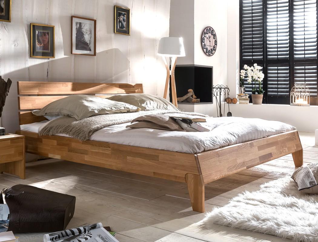 massivholzbett divico 140x200 wildeiche ge lt jugendbett singlebett wohnbereiche schlafzimmer. Black Bedroom Furniture Sets. Home Design Ideas