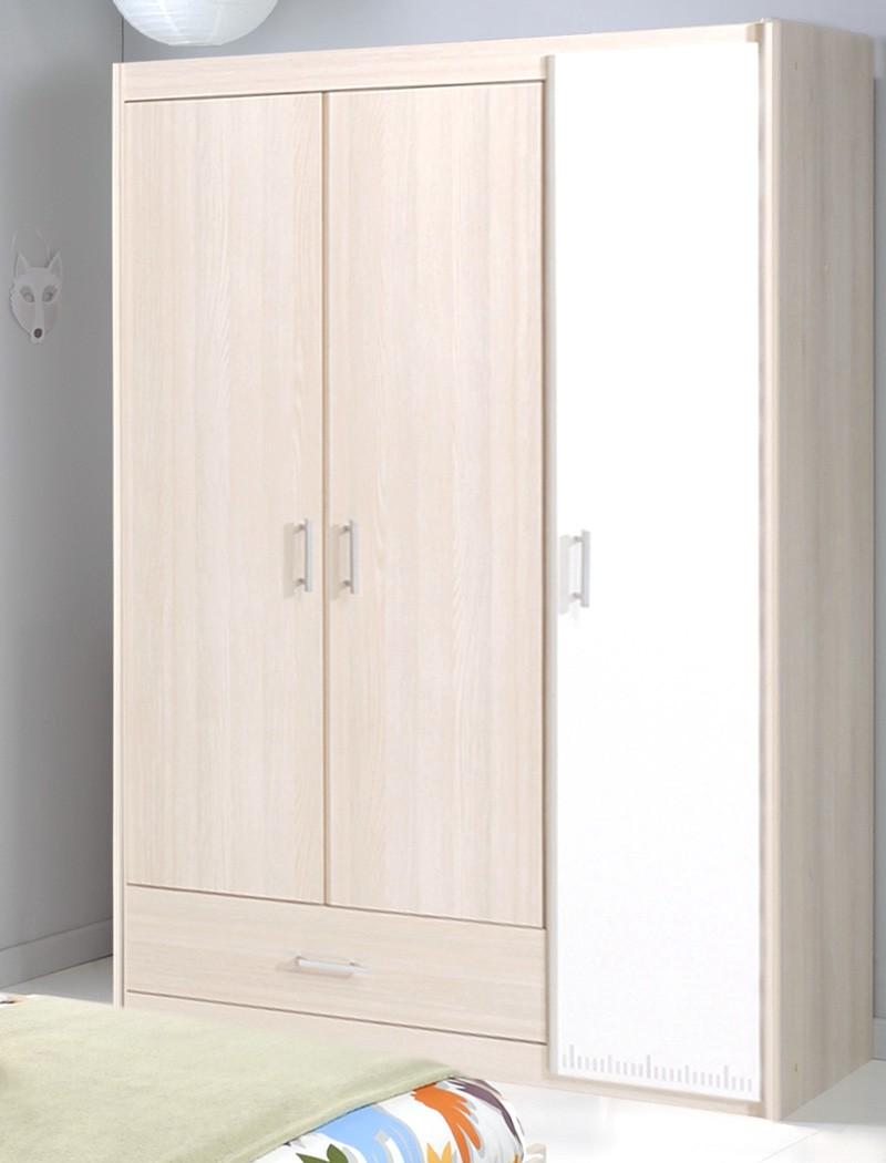 Jugendzimmer chiron 14 akazie nb jugendbett 90x200 nako for Schrank 90x200